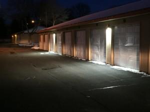 Outdoor Garage Lighting